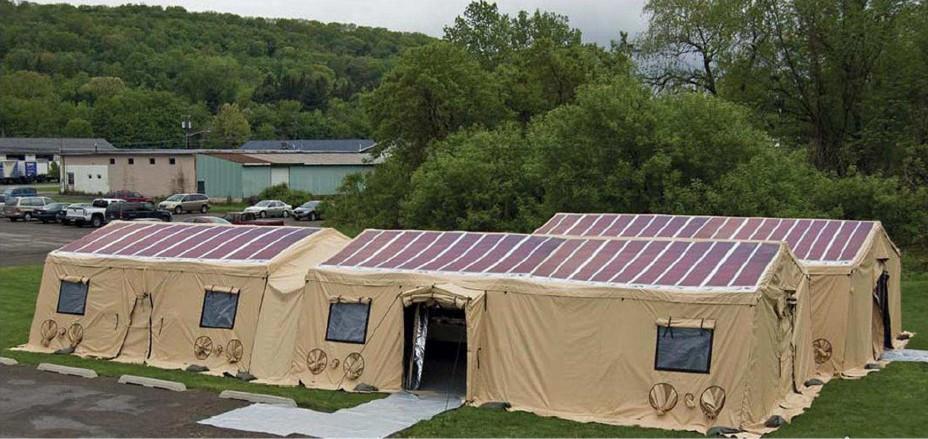 Detailed Information & Solar Tent - Solar Tent - Flextech Inc.